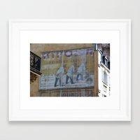 wallpaper Framed Art Prints featuring Wallpaper by andy_panda_