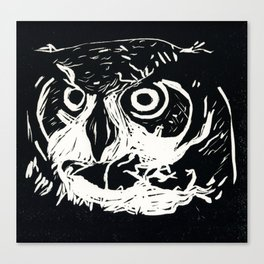 I am the Owl Canvas Print