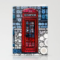 telephone Stationery Cards featuring Telephone by start from scratch