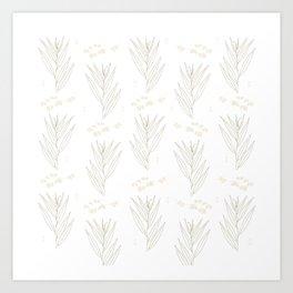 White Willow Art Print