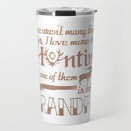 Hunting Grandpa Travel Mug