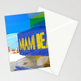 Miami Beach art deco Stationery Cards