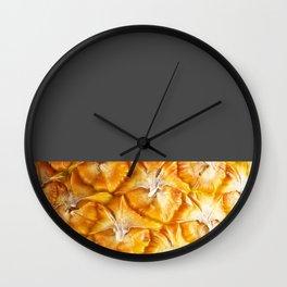 Dark side of the pineapple Wall Clock