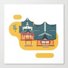 Kyoto icon Canvas Print