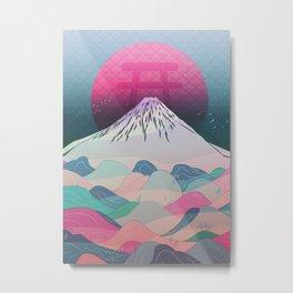 Dreaming of Japan Metal Print