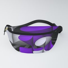 violet geometry -101- Fanny Pack
