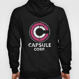 Capsule Corp Vintage pnk and white Hoody
