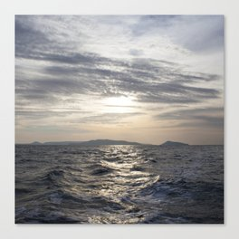 cambodian sea Canvas Print