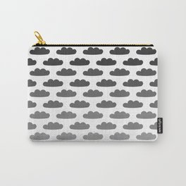 Cloud Gradient Pattern Carry-All Pouch