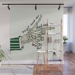 Curse Of The Black Web. Wall Mural