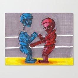 Rock'em Sac'em Canvas Print