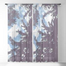 sky & pine Sheer Curtain