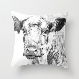 Ardnamurchan Coo Throw Pillow
