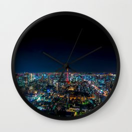Roppongi View Wall Clock
