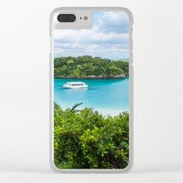 Kabira Bay Okinawa Clear iPhone Case