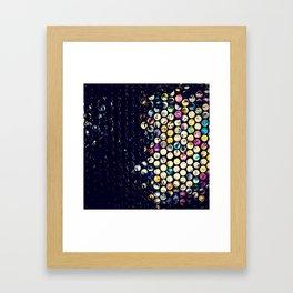 scandal texture Framed Art Print