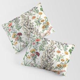 Adolphe Millot - Fleurs B - French vintage poster Pillow Sham