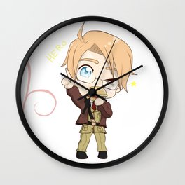 Chibi!America Wall Clock