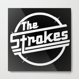 THE STROKES WORLD TOUR DATES 2019 PAHOMAN Metal Print