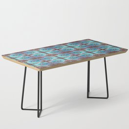 Bird Song Pattern Coffee Table