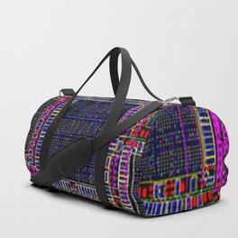 Technology Circuit Board Layout Pattern Duffle Bag