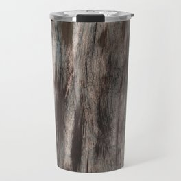 Gray brown marble Travel Mug