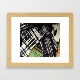 Feldspar and Biotite Framed Art Print