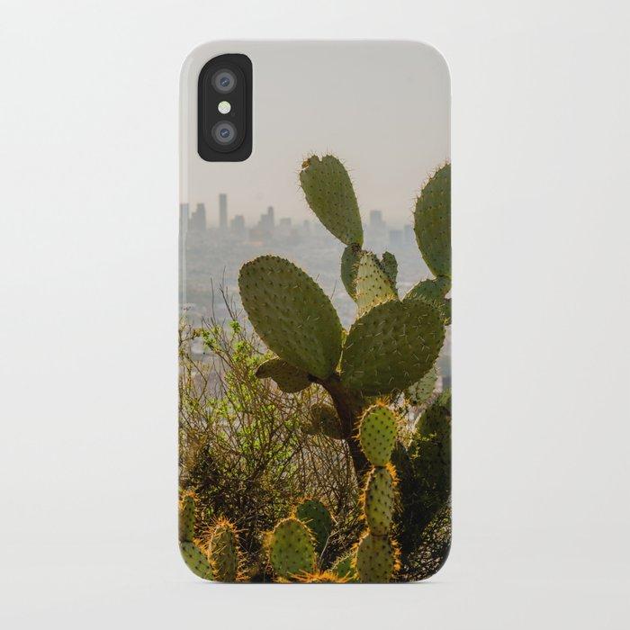 Runyon Canyon Opuntia iPhone Case