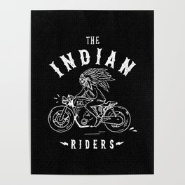Indian Riders Poster
