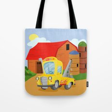 TOW TRUCK (GROUND VEHICLES) Tote Bag