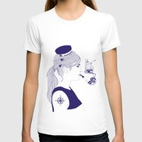 nautical T-shirts featuring Nautical by Nathalie Otter