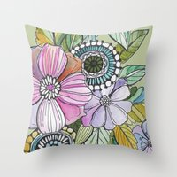Boho Pop Throw Pillow