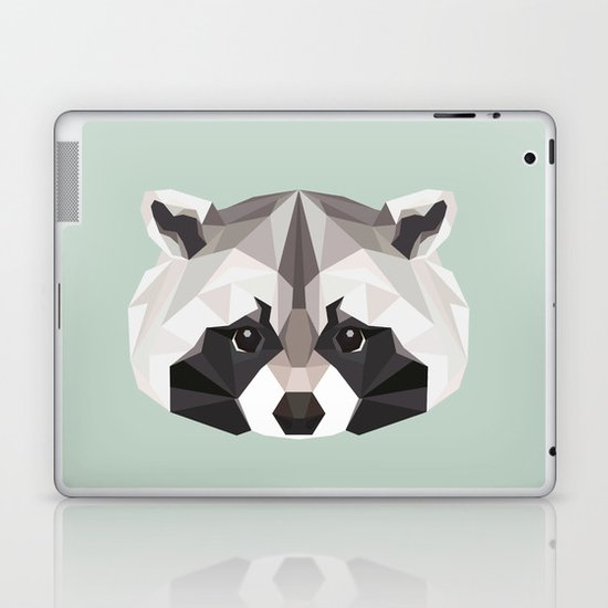 R is for Raccoon Laptop & iPad Skin