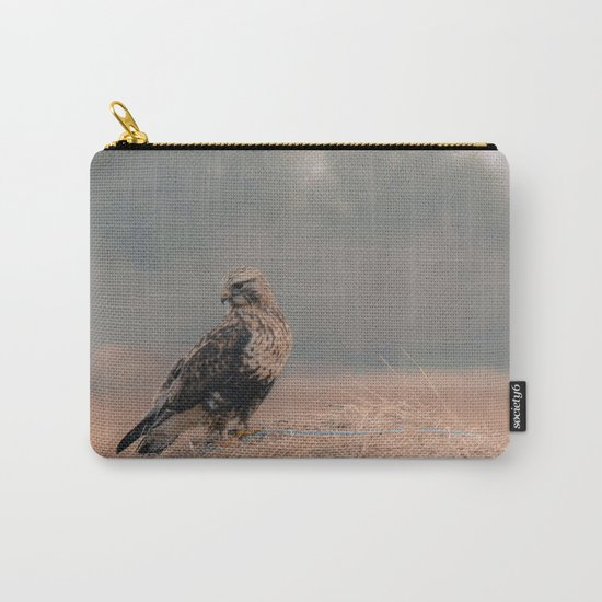Feathered Wanderer Carry-All Pouch