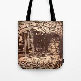 Hidden Shack Tote Bag