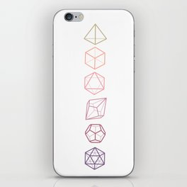 DND Dice Vertical iPhone Skin