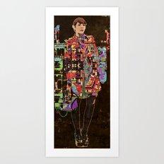 Défilé de mode Art Print