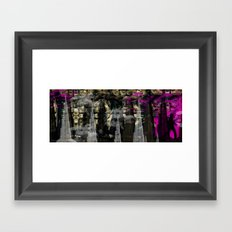 Escaping The City Framed Art Print