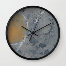 2017 Composition No. 10 Wall Clock
