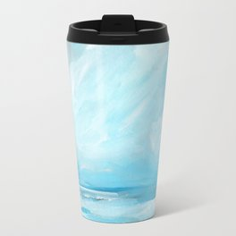 Resurgence - Stormy Ocean Seascape Travel Mug