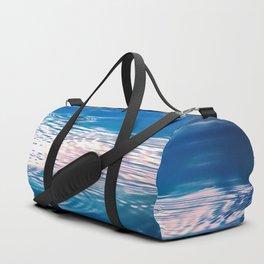 """Blue Ripples 2"" by Murray Bolesta Duffle Bag"
