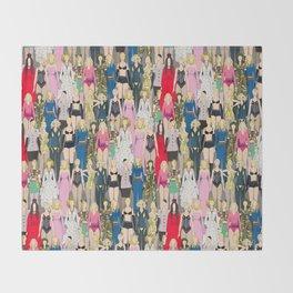 Madonna-A-Thon Throw Blanket