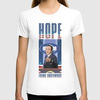 house of cards T-shirts featuring House of Cards: Frank Underwood USA President by Akyanyme