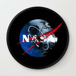 The Second NASA Death Star Wall Clock