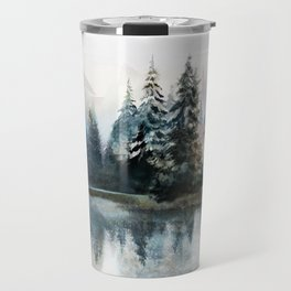 Winter Morning Travel Mug