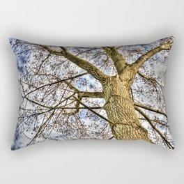 The Peaceful Tree Rectangular Pillow