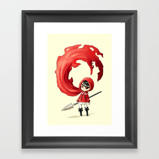 Red Cape Framed Art Print