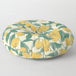 Lemon Pugs Floor Pillow