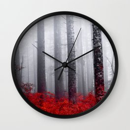 FEAR Wall Clock