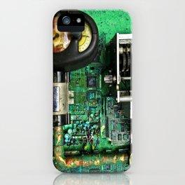Time Machine Universal Compensator or T.M.U.C. iPhone Case